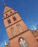Propsteikirche Herz Jesu church in Luebeck. Propsteikirche Herz Jesu (Church of the Sacred Heart of Jesus) in Luebeck, Germany royalty free stock image