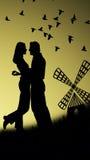Propuesta de matrimonio Stock de ilustración