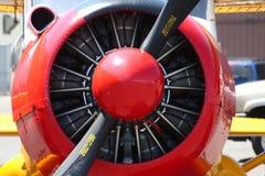 Propulseur d'avion de cru Images libres de droits