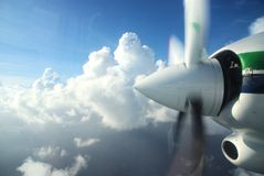 Propulseur d'avions Image libre de droits
