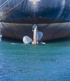 Propulseur de bateau image libre de droits