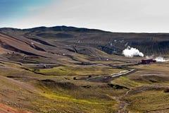 Propulseur géothermique Photographie stock libre de droits