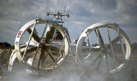 Propulseurs Southsea d'aéroglisseur Image stock