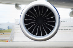 Propulsión del Motor-jet del aeroplano Fotos de archivo