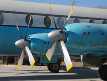 Propulsor de aeroplano Imágenes de archivo libres de regalías