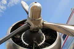 Propulsor de aeroplano Imagen de archivo libre de regalías
