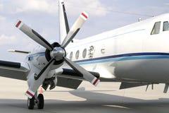 Propulsor de aeroplano foto de archivo libre de regalías