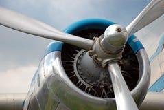 Propulsor de aeroplano fotografía de archivo