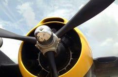 Propulsor de aeroplano Fotografía de archivo libre de regalías