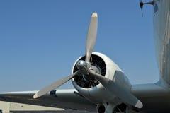 Propulsor de aeroplano de la Segunda Guerra Mundial Foto de archivo libre de regalías