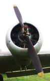Propulsor de aviones Foto de archivo libre de regalías