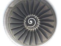 Propulsor de la turbina de los aviones Fotografía de archivo