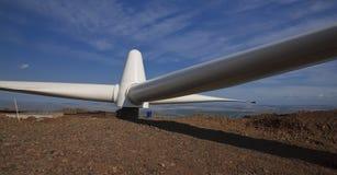 Propulsor de la turbina de viento Imágenes de archivo libres de regalías