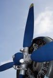 Propulsor de los aviones Imagen de archivo