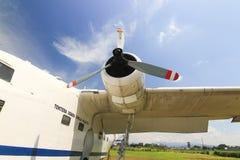 Propulsor de los aviones Fotos de archivo