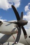 Propulsor del motor de avión Fotografía de archivo