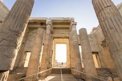 Propylaea, Αθήνα, Ελλάδα στοκ εικόνες με δικαίωμα ελεύθερης χρήσης