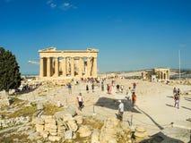Propylaea της αθηναϊκής ακρόπολη στοκ φωτογραφίες