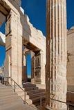 Propylaea, Acropolis, Athens, Greece Stock Image