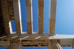 Propylaea, Acropolis, Athens. A Propylaea (Propylea, Propylaia) is a gateway to the Acropolis in Athens royalty free stock images