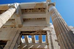 Propylaea, Acropolis, Athens. A Propylaea (Propylea, Propylaia) is a gateway to the Acropolis in Athens royalty free stock image