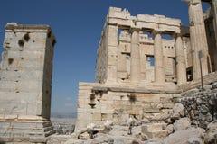 Propylaea in Athen Lizenzfreies Stockbild