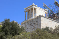 Propylaea of the Athenian Acropolis Stock Image