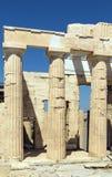 Propylaea of the Athenian Acropolis Stock Photo