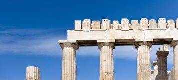 Propylaea der von Athen Akropolises Stockbild