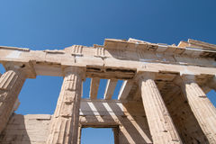 Propylaea gateway Royalty Free Stock Photo