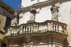Propylaea. Lecce. Puglia. Italy. Royalty Free Stock Photos