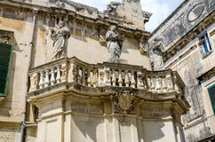 Propylaea, main gateway of Cathedral Square in Lecce, Salento, I Royalty Free Stock Photos