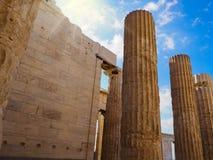 Propylaea Onthaal aan Oud Griekenland royalty-vrije stock fotografie
