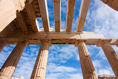 The Propylaea's roof Stock Photo