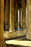 Propylaen columns, Munich, Germany Stock Photos