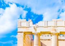 Propylaia of Acropolis Stock Photo
