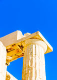 Propylaia of Acropolis Stock Image