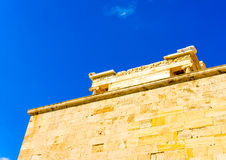 Propylaia of Acropolis Stock Photos