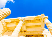 Propylaia of Acropolis Royalty Free Stock Photo