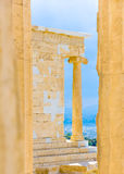 Propylaia of Acropolis Royalty Free Stock Photos