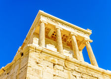 Propylia of Acropolis Royalty Free Stock Images