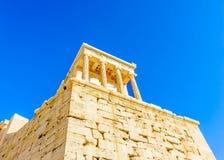Propylia of Acropolis Royalty Free Stock Photography