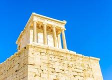 Propylia of Acropolis Stock Images