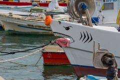 Prora dello squalo Fotografie Stock Libere da Diritti