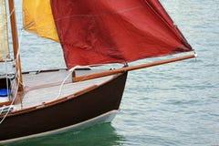 Prora di vecchia nave Fotografia Stock