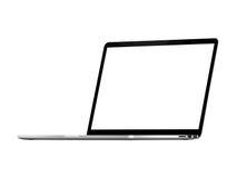 Proretina Apple-Macbook Lizenzfreie Stockbilder