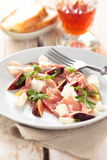 Prosciuto salad. Royalty Free Stock Photography