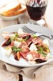 Prosciuto salad. Stock Image