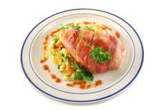 prosciutto κοτόπουλου Στοκ εικόνες με δικαίωμα ελεύθερης χρήσης
