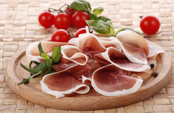 Prosciutto Photo stock